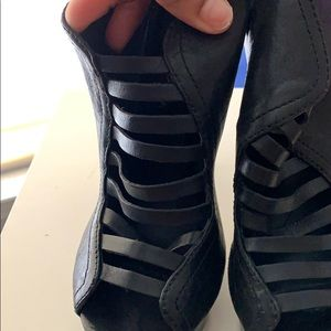 Bcbg Max Azria Caged booties